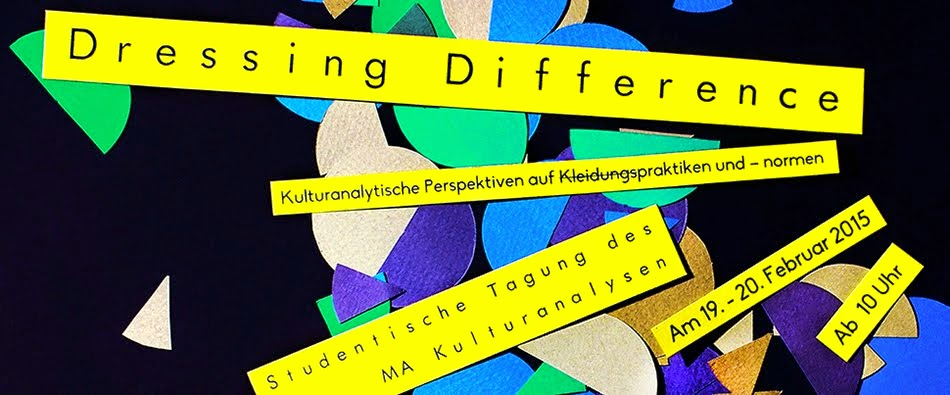 Studentische Tagung: Dressing Difference