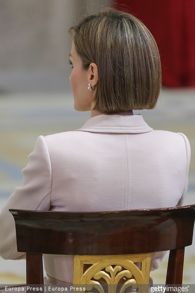 Queen Letizia of Spain attends 'Queen Sofia Awards' at El Pardo Palace