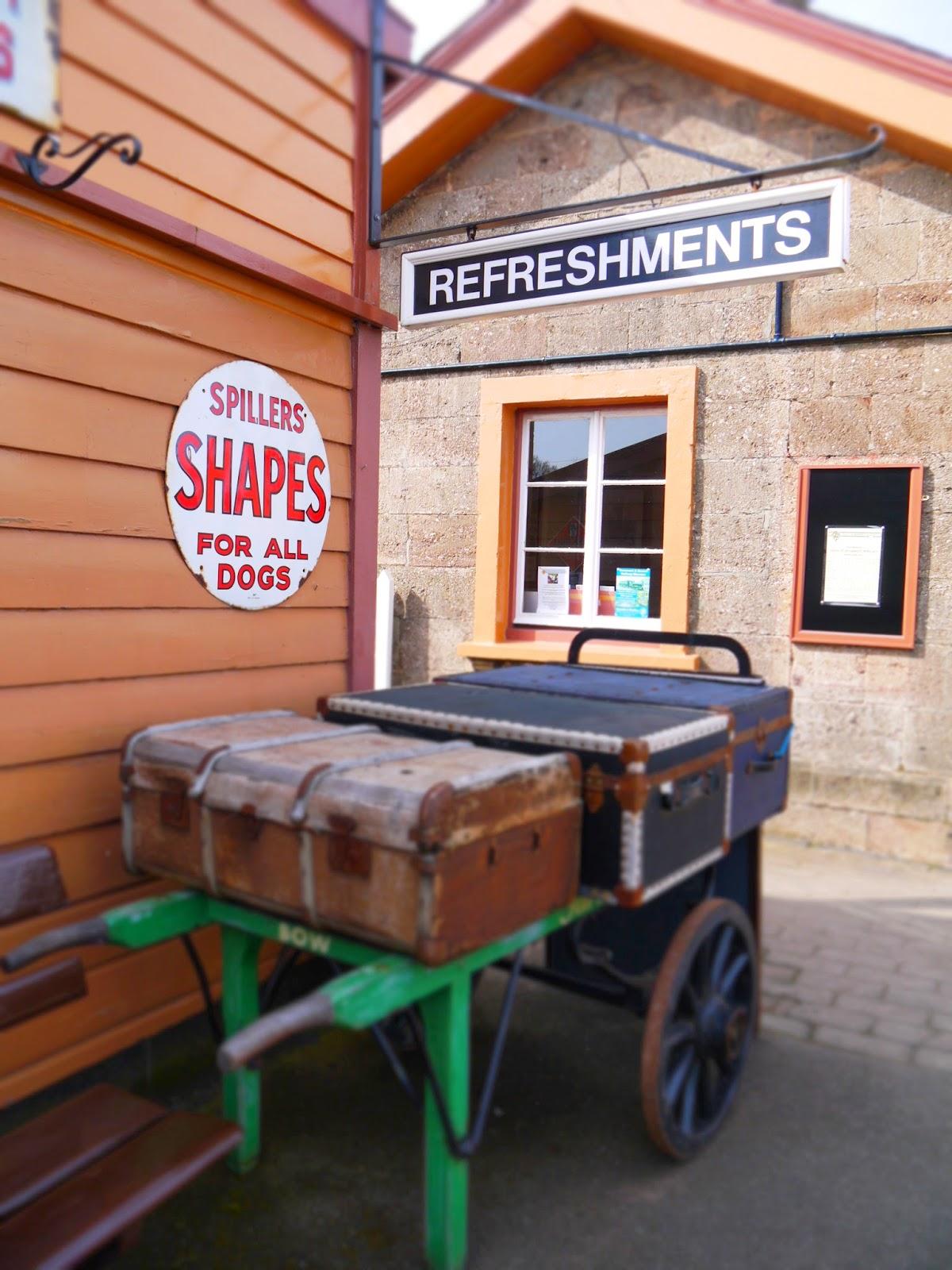 Luggage at Washford