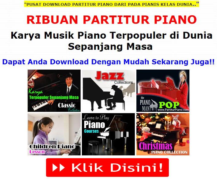 Pusat Download Partitur Piano