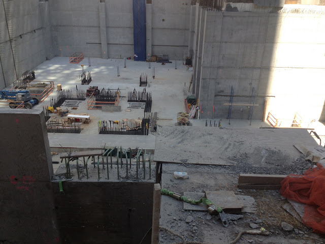 Photo of 432 park avenue foundations on the site