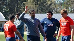 Raúl Aspirina Pérez, entrenador de Los Pumas