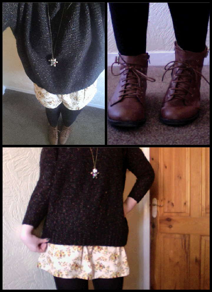 Outfit of the day, casual outfit, winter outfit, skirt and boots