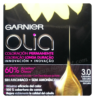Coloración permanente sin amoniaco: Nuevo Garnier Olia