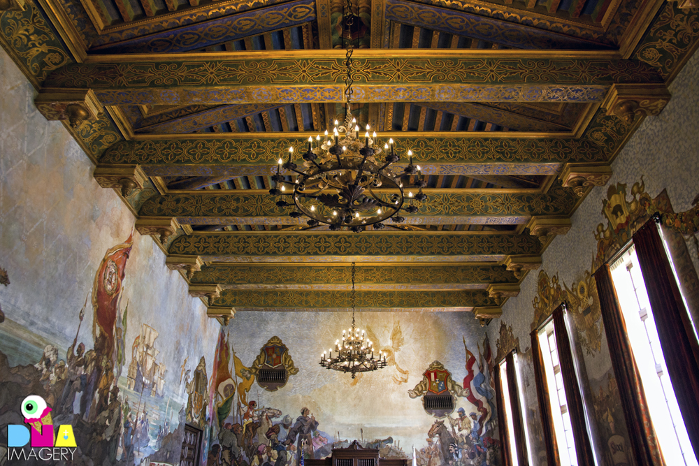 Old spanish days fiesta 2011 santa barbara ca the for Mural room santa barbara courthouse
