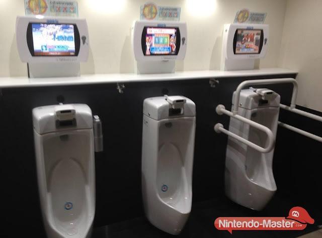 Baños Japoneses Antiguos:Videojuegos en el Baño , los japoneses nos llevan años de ventaja
