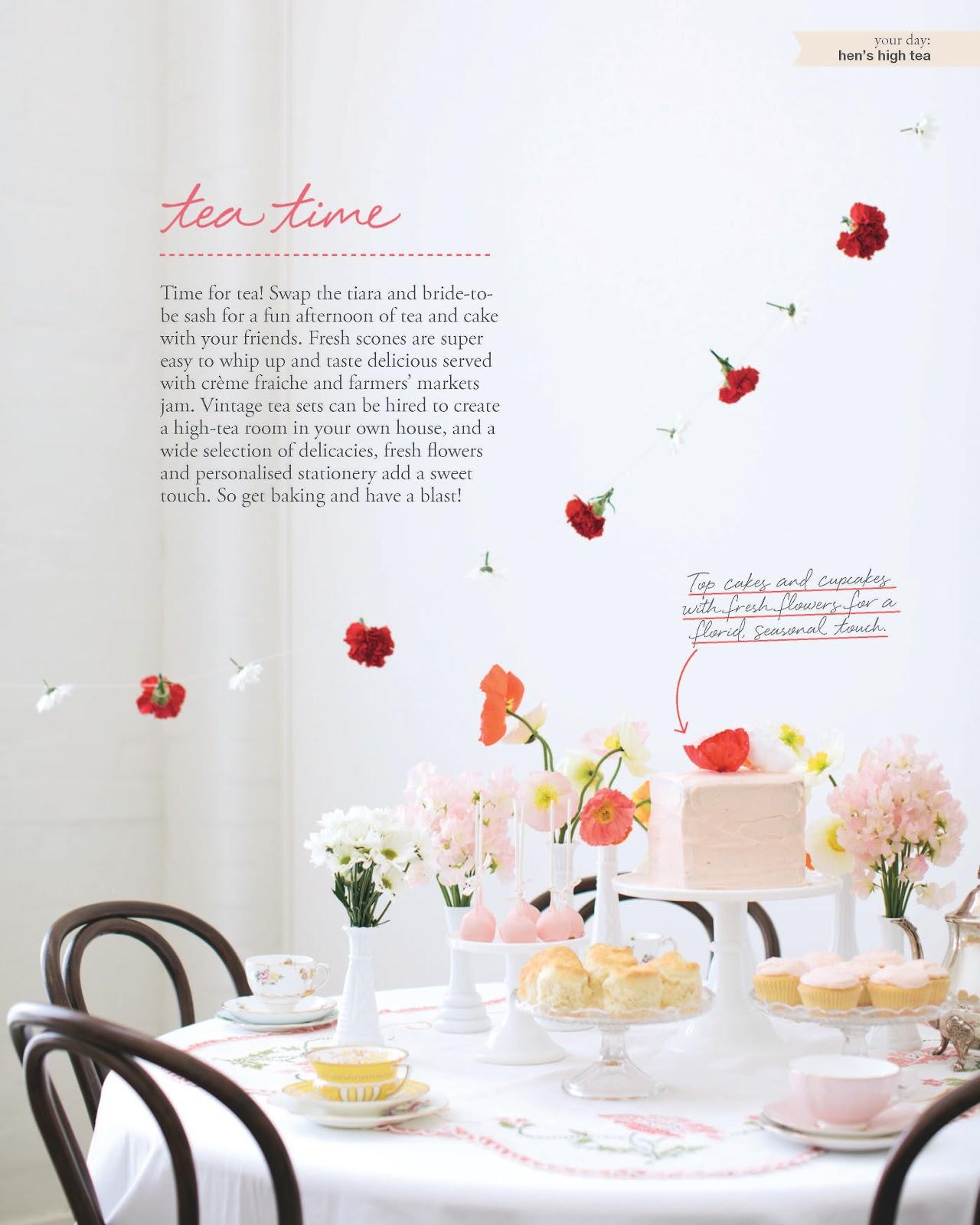 Kitchen Tea Hello Naomi White Magazine Kitchen Tea Feature