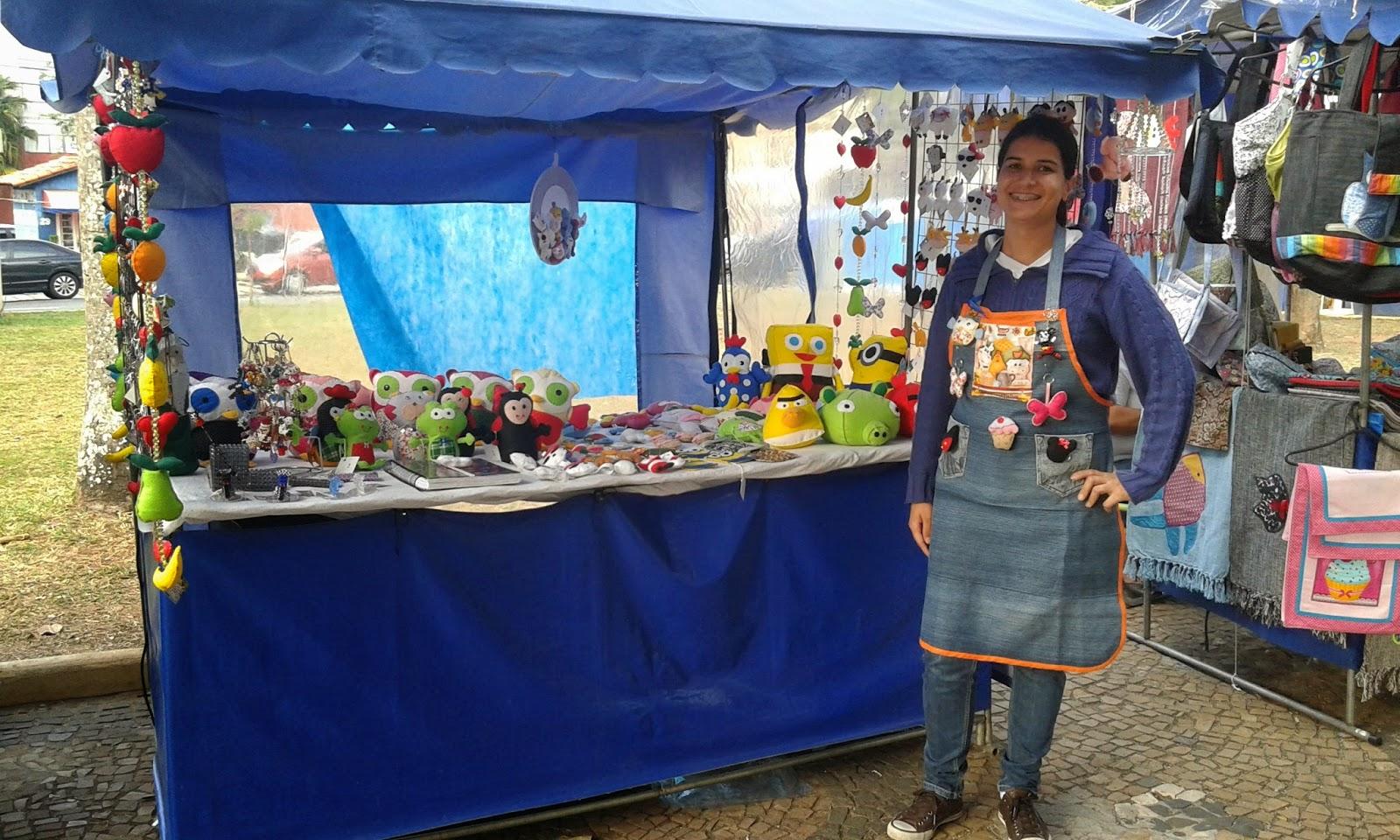 Aparador Embaixo Da Tv ~ feira de artesanato em Sorocaba FELTRO ORQUIDEAS CHAPEUS PELUCIAS