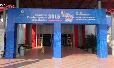 pameran pembangunan kesehatan 2015