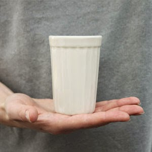 Ma Bicyclette - Buy Handmade - Ceramics - Baskakova - Porcelain Cup