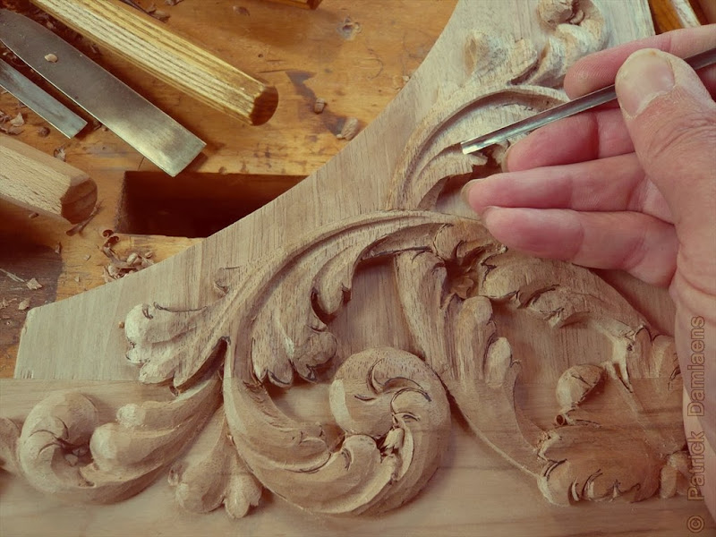 Acanthus Leaves Carving