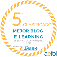 5º MEJOR BLOG DE ELEARNING