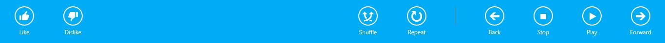 CommandBar Windows 8.1