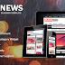 Free Download BlackNews Themeforest Blogger Template