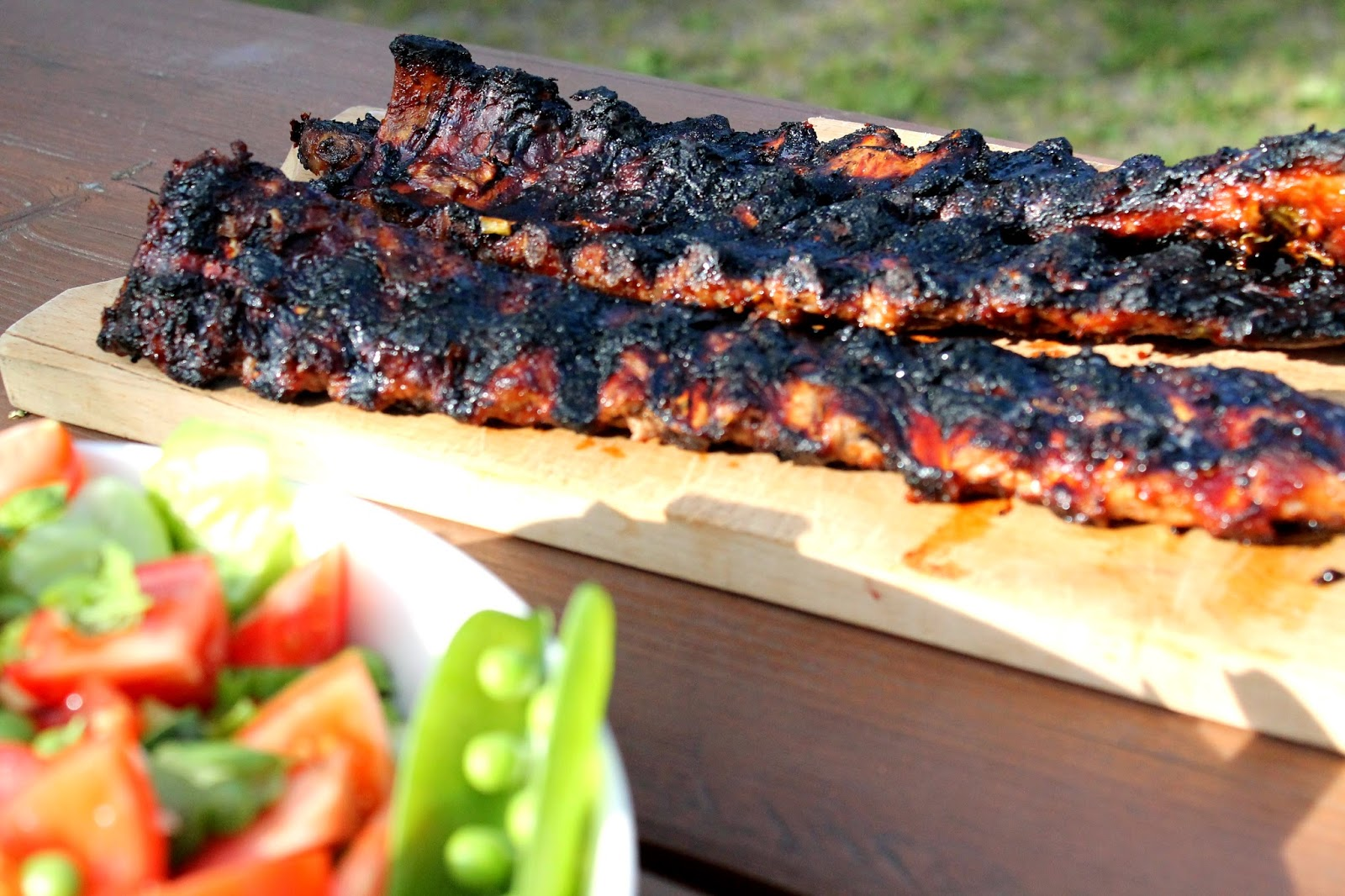 cottage BBG ribs party