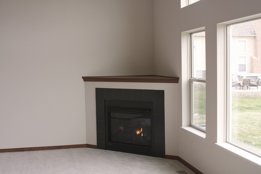 Ideas Design Simple Ideas Corner Fireplace Tile Tile Fireplace Design