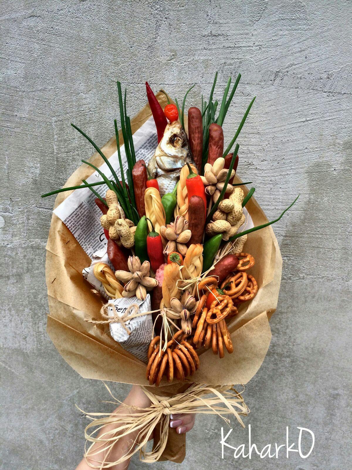 Мастер-класс по букету из овощей своими руками: делаем 83