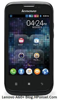 Lenovo A60+ HP Android layar 3.5 inch harga dibawah 1 juta