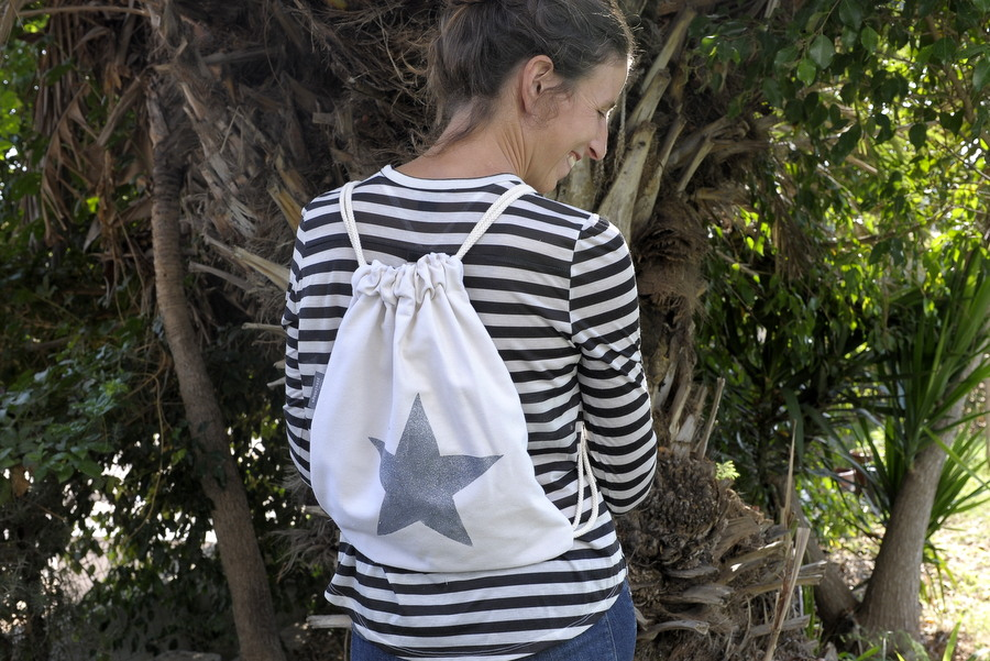 drawstring bag תיק גב