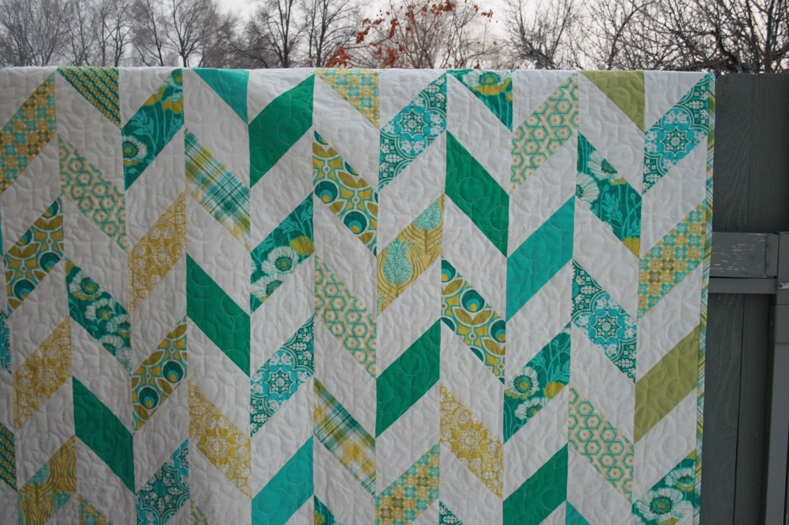 leedle deedle quilts: Checkerboard Herringbone in Notting HIll fabrics : parallelogram quilt pattern - Adamdwight.com