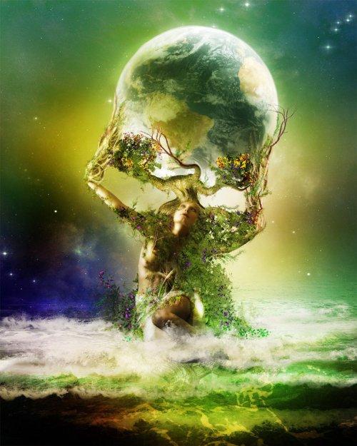Mãe Terra...