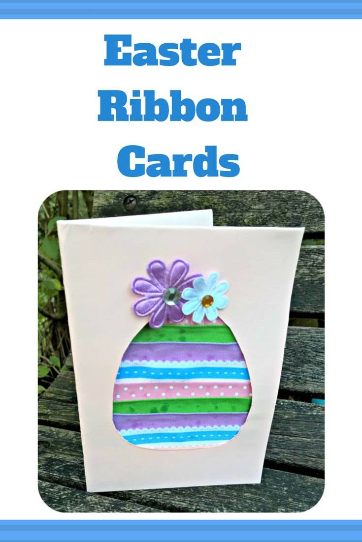 Easy Easter Ribbon Greeting Card Craft