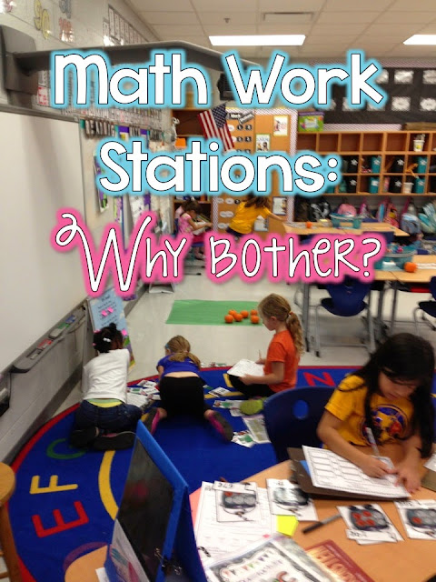 http://queenofthefirstgradejungle.blogspot.com/2014/03/math-workstations-part-1-why.html