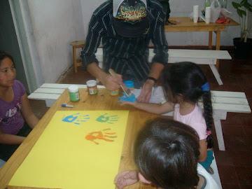 actividades en el comedor Monseñor Tibiletti