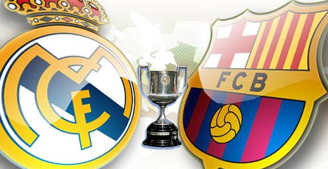 Espectacular final de la copa del rey entre Madrid y Barcelona
