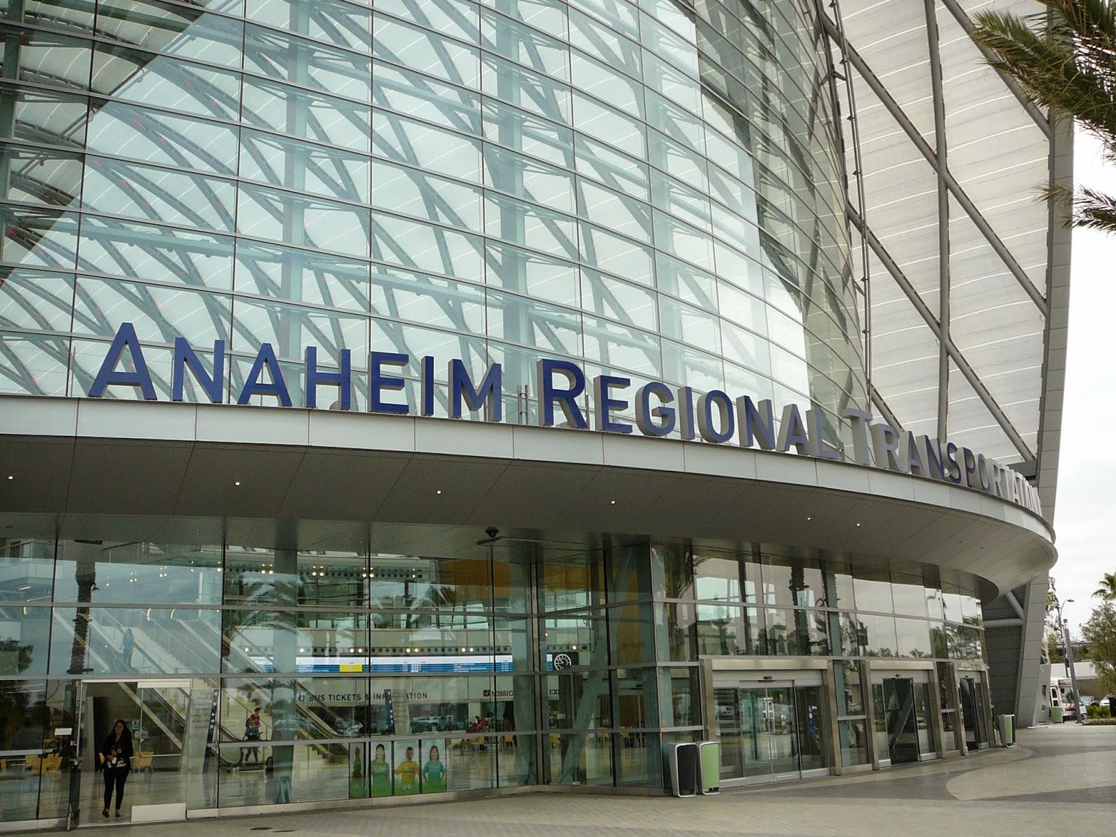 Orange County Structure Anaheim Regional Transportation