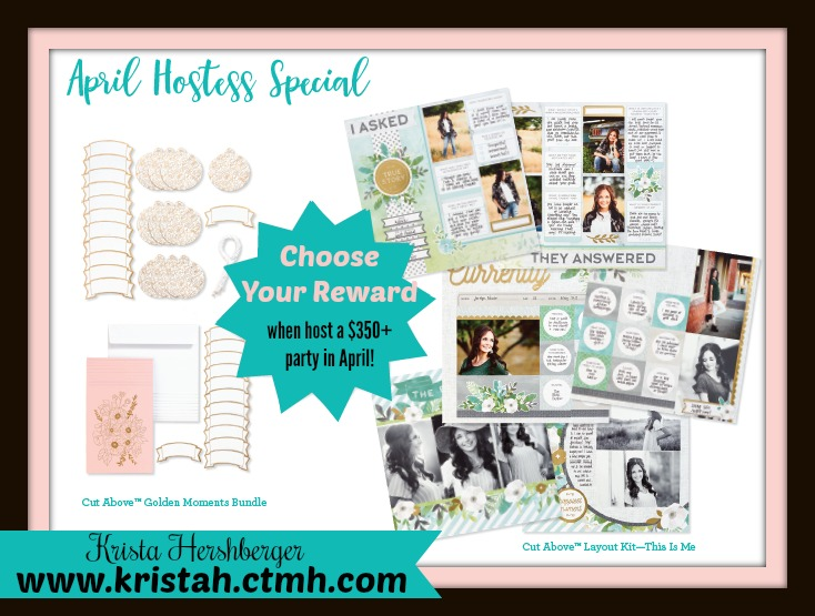 Host a 350+ party in April & get MORE free CTMH products!!