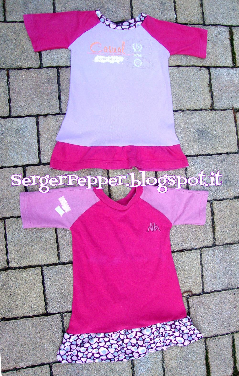 Pink refashion free pattern raglan shirts with skirt maglie pink refashion free pattern raglan shirts with skirt maglie rosa con la jeuxipadfo Choice Image