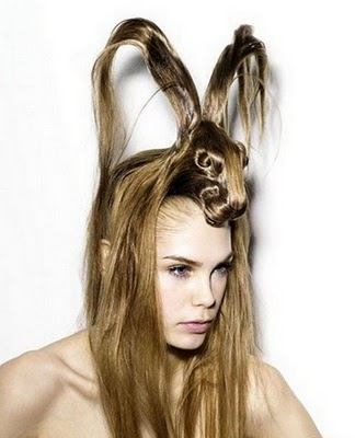 Crazy Hair Styles on So Silly Today Com  So Silly People   Here Comes Peter Cottontail