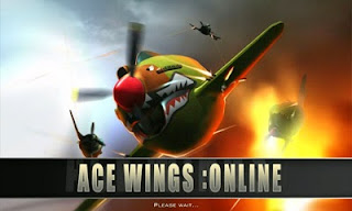 Screenshots of the Ace Wings: Online for Android tablet, phone.