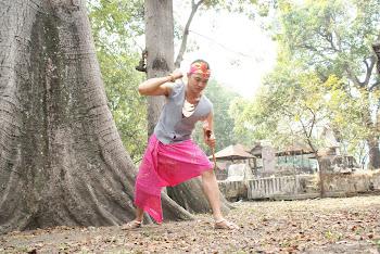 batik tulis madura merah muda