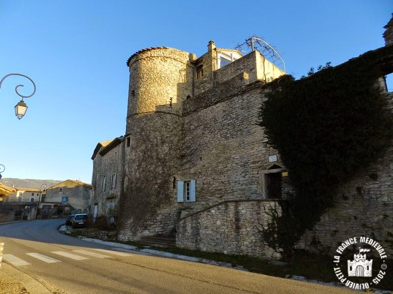 TAULIGNAN (26) - Les remparts médiévaux