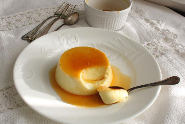 Creme caramel speziato chiodi garofano e arancia