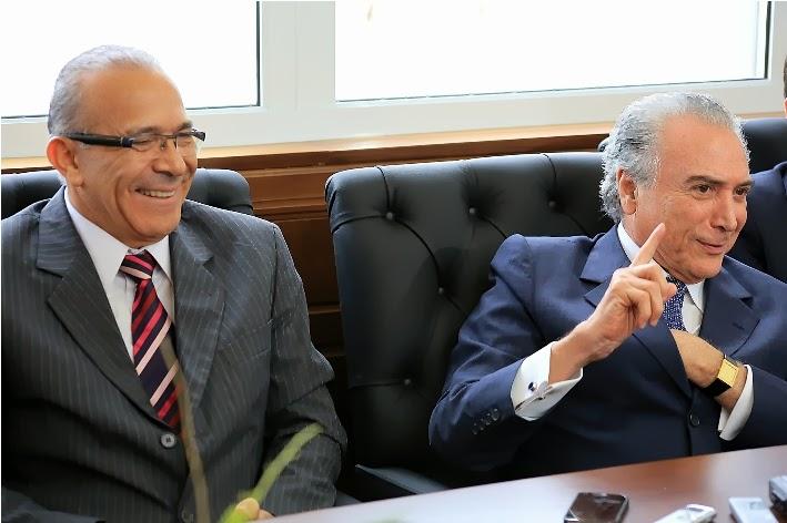 Eliseu Padilha e Michel Temer