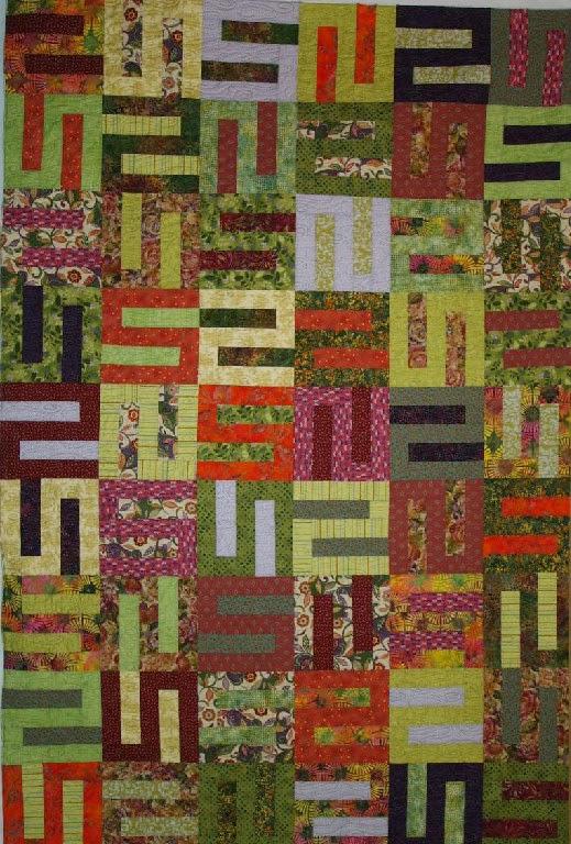 Loretta O'Brien's Scrappy Quilt