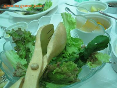 Sonyas Garden green leafy salad