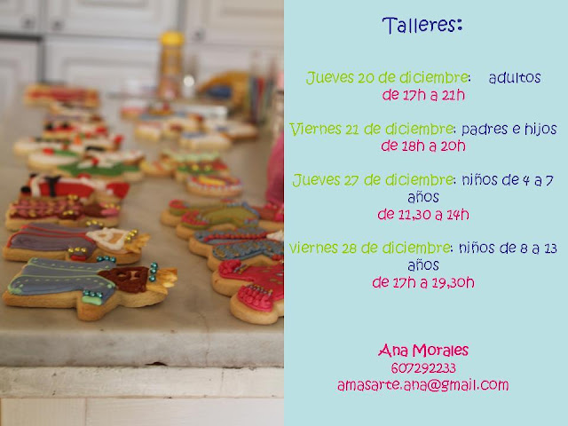 taller de galletas decoradas
