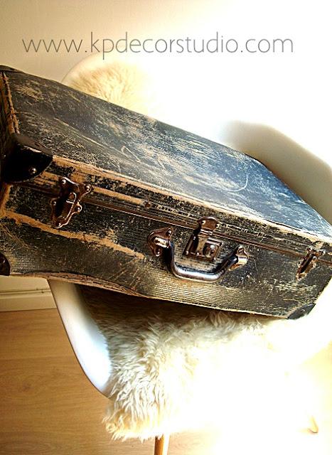Venta de maletas vintage para decoración