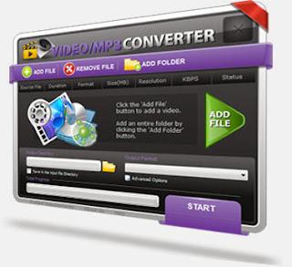 برنامج video to mp3 convert لتحويل الفيديو الى mp3