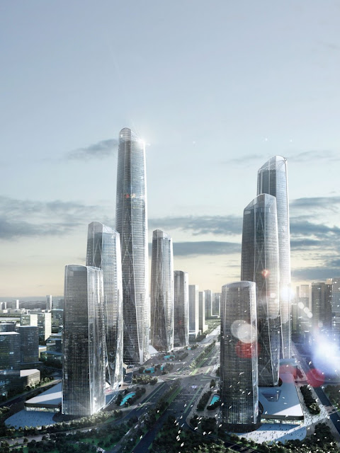Photo of 10 new skyscrapers planed to be built by the street