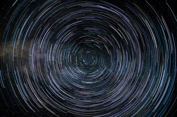 تصويرالنجوم - مسارات
