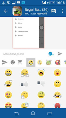 BBM MOD Simple Blue v6 2.9.0.45 APK