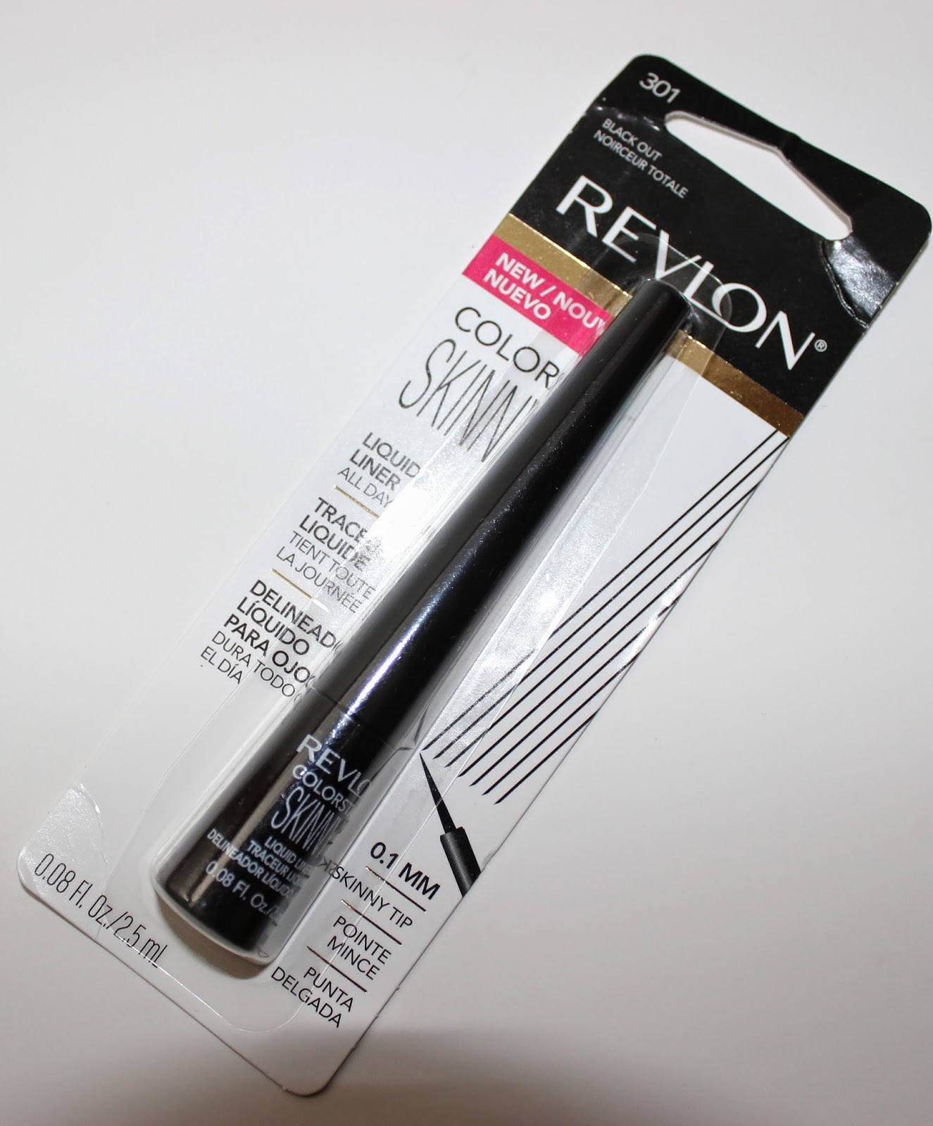 Revlon ColorStay Skinny Liquid Liner in Black Out Packaging