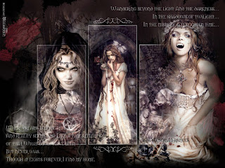 In The Luner Light Dark Gothic Wallpaper