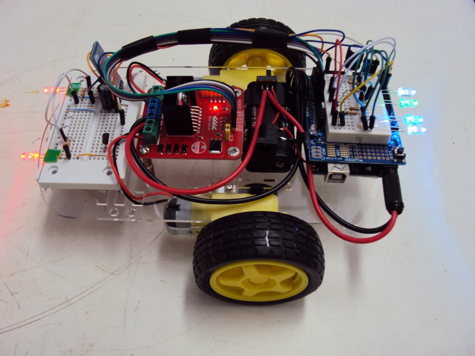 bluetooth controlled robot project pdf