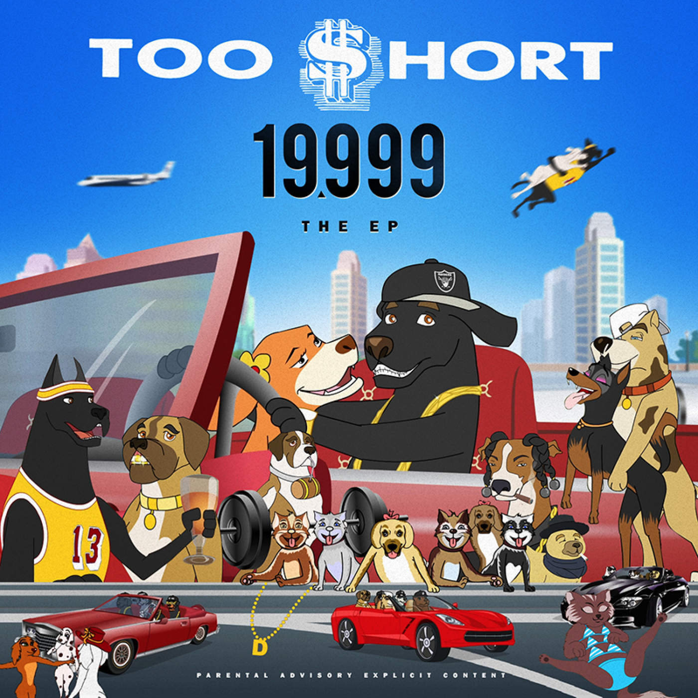 Too $hort - 19,999 - EP Cover